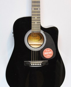 Fender Squier SA-105CE BK 4