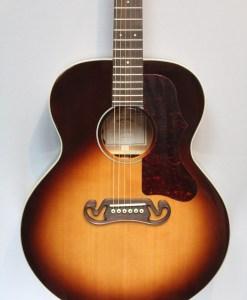 Sigma GJM-SG 100 Vintage Sunburst Westerngitarre mit Tonabnehmer 4