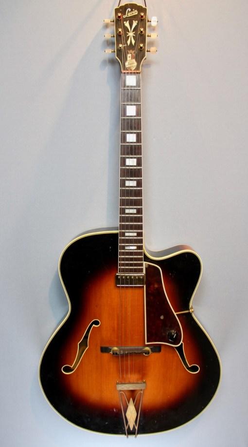 Levin Jazzgitarre Modell 325 1959 9