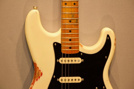 Berlin Custom Guitars O-Caster Fire and Ash