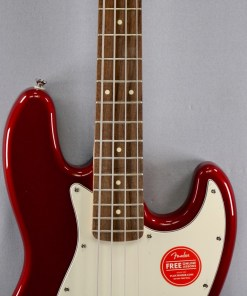 Jazz Bass Contemporary Dark Metallic Red