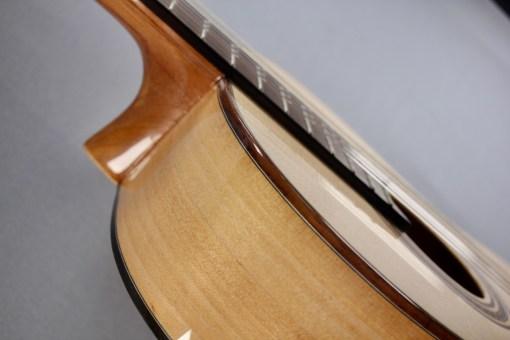 La Mancha Amber Linkshand Flamencogitarre 2