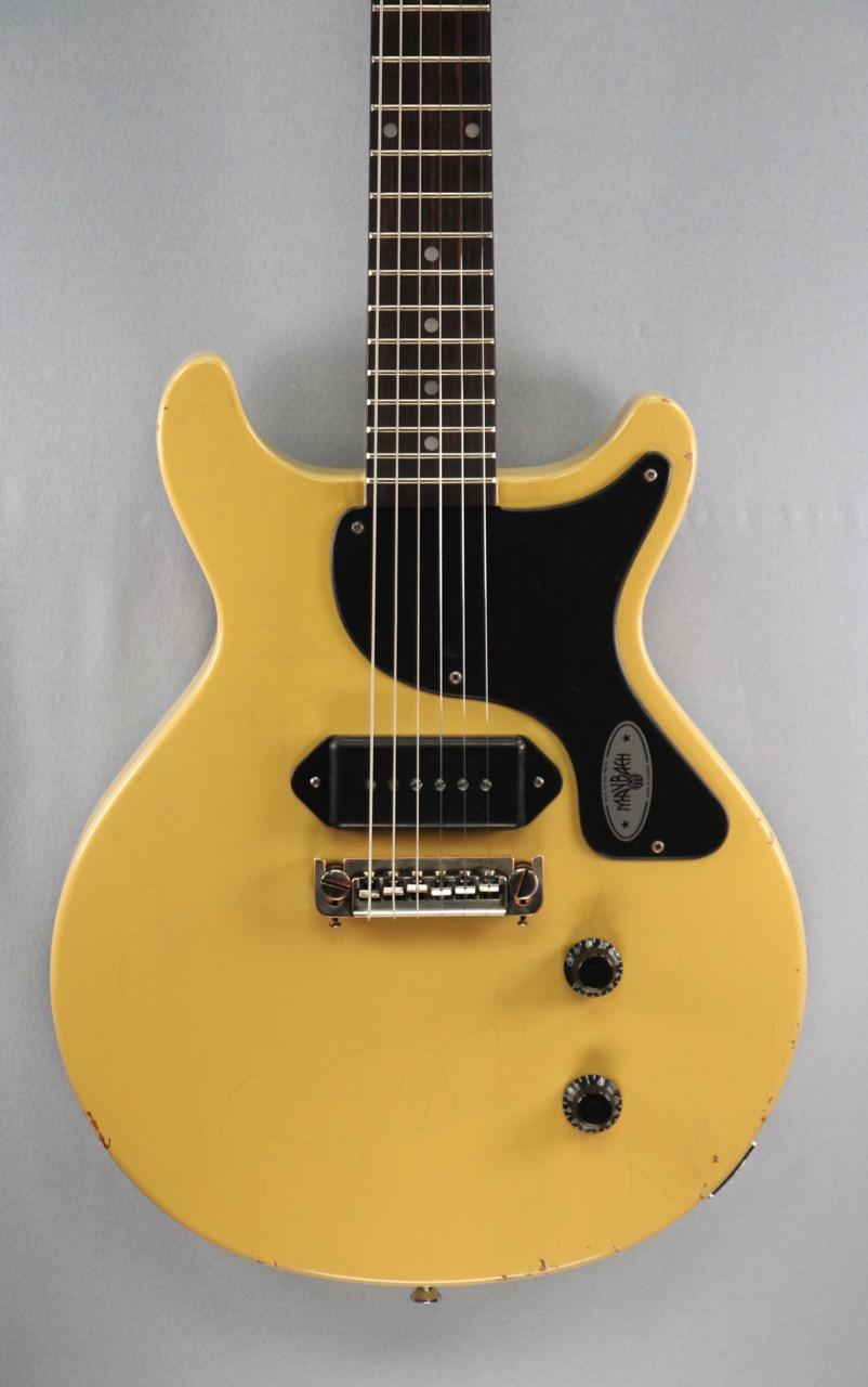 Maybach Lester Jr 59 Double Cut Tv Yellow Aged Berlin Guitar Shop