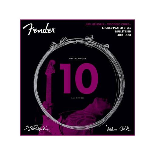 Fender Strings Hendrix Voodoo Child Nickel