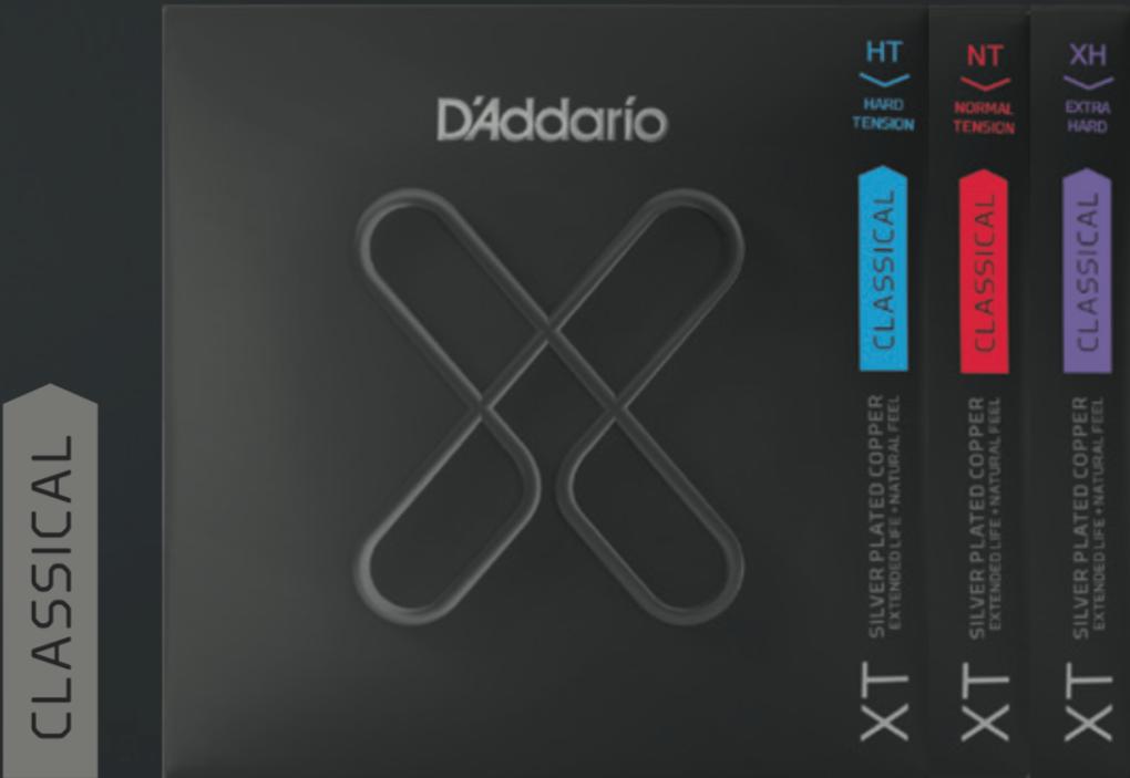 Daddario X-Serie fuer Konzertgitarre