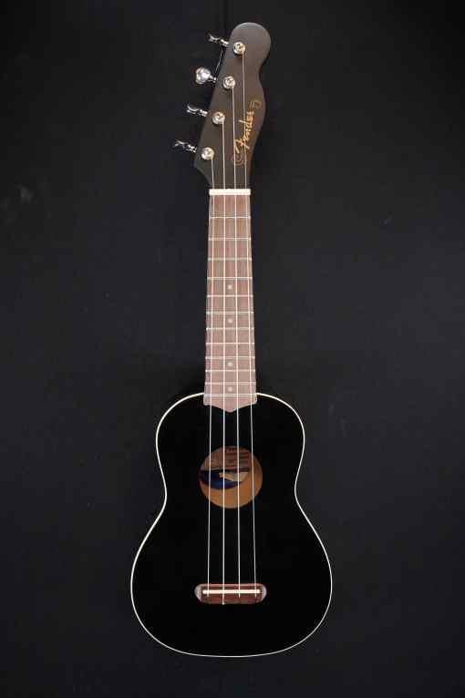 Fender Venice Sopran Ukulele BLK