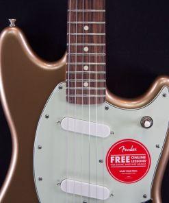 Fender Mustang Firemist Gold