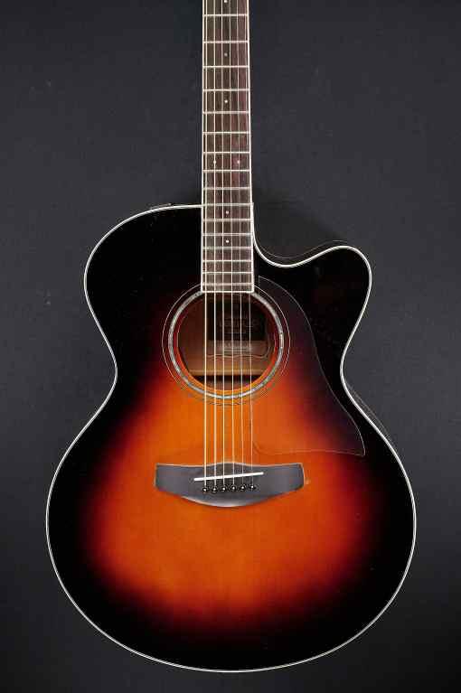 Yamaha CPX 600 Violin Sunburst 6