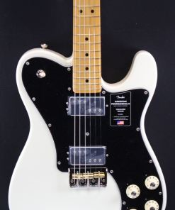 ender American Professional II Telecaster Deluxe MN Olympic White