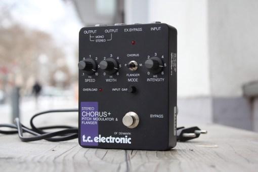 TC Electronic Stereo Chorus + Pitch Modulator & Flanger - '80
