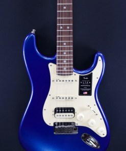 Fender AM Ultra Strat RW HSS Cobra Blue