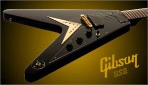 Gibsonから フライングVモデルの 7弦ギターが登場!!