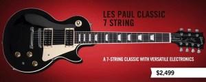 Gibson com Les Paul Classic 7 String