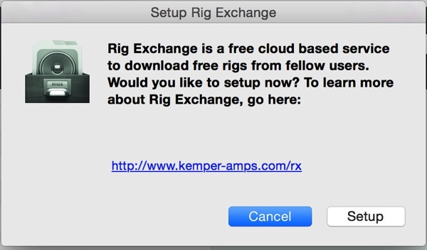 Setup Rig Exchange 5