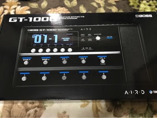 BOSS GT-1000 使い方
