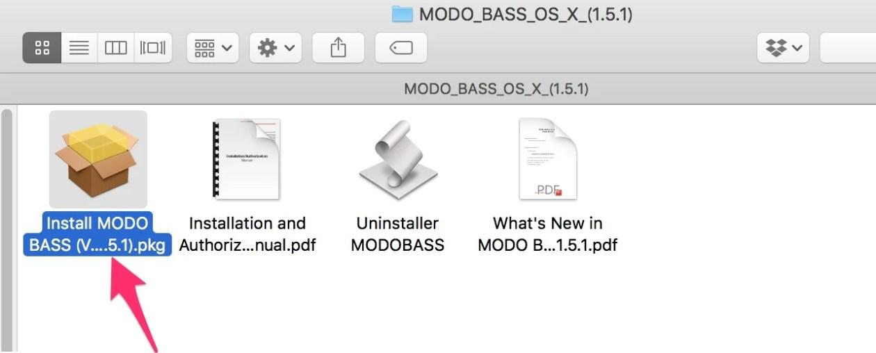 MODO BASS OS X 1 5 1