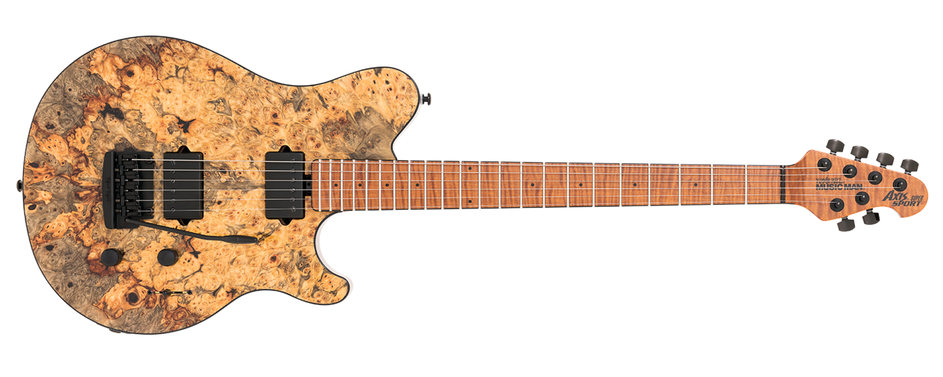 Ernie Ball Music Man Announces Ball Family Reserve April