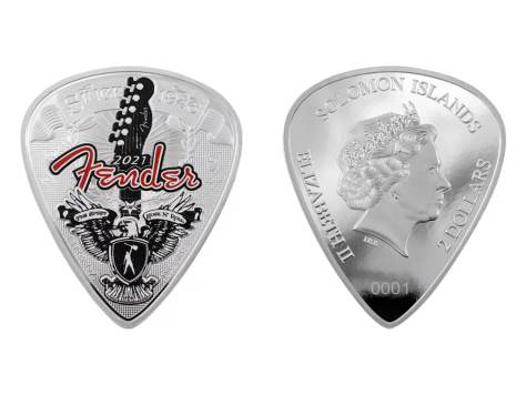 Fender x PAMP coins