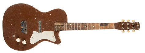 George Harrison and Tom Petty's Danelectro prototype