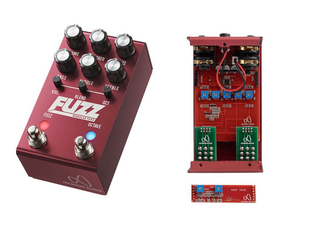 Image result for Jackson Audio FUZZ Modular Fuzz Pedal