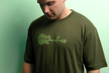 "Tshirt ""Bird on guitar"""