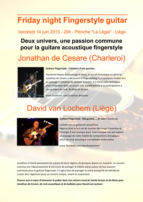 Affiche: Jonathan de Cesare - David van Lochem
