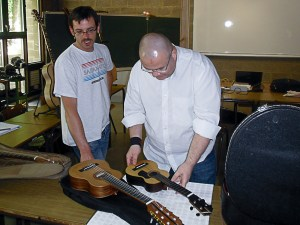 IFAPME - rencontre avec les élèves et les instruments
