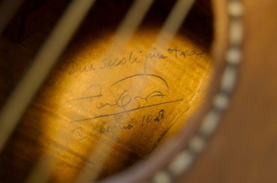 Signature de Segovia