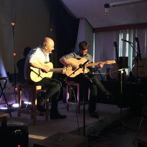 Concert à l'IFAPME de Limal : Paolo Loveri et Nicolas Gaul