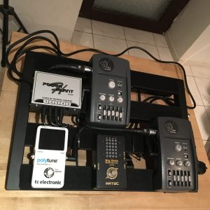 Pédalier Pedaltrain : version I