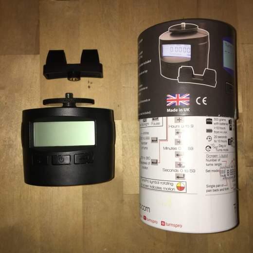 Turnspro 360 : tête motorisée pour panoramiques