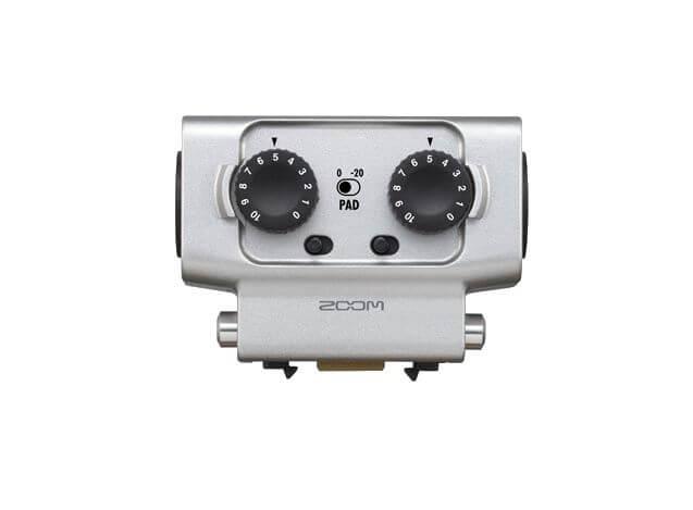 Zoom EXH-6 : 2 entrées supplémentaires pour les enregistreurs Zoom