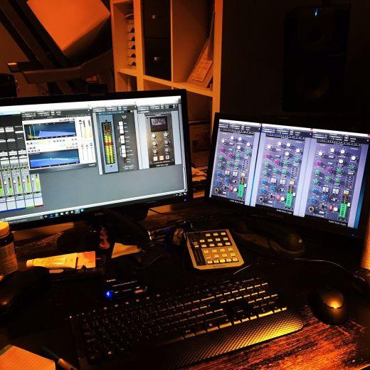 """Le """"studio"""" aka le bureau"""