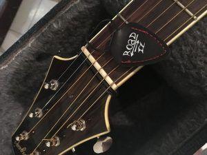 Road-IZ : porte-médiator en cuir