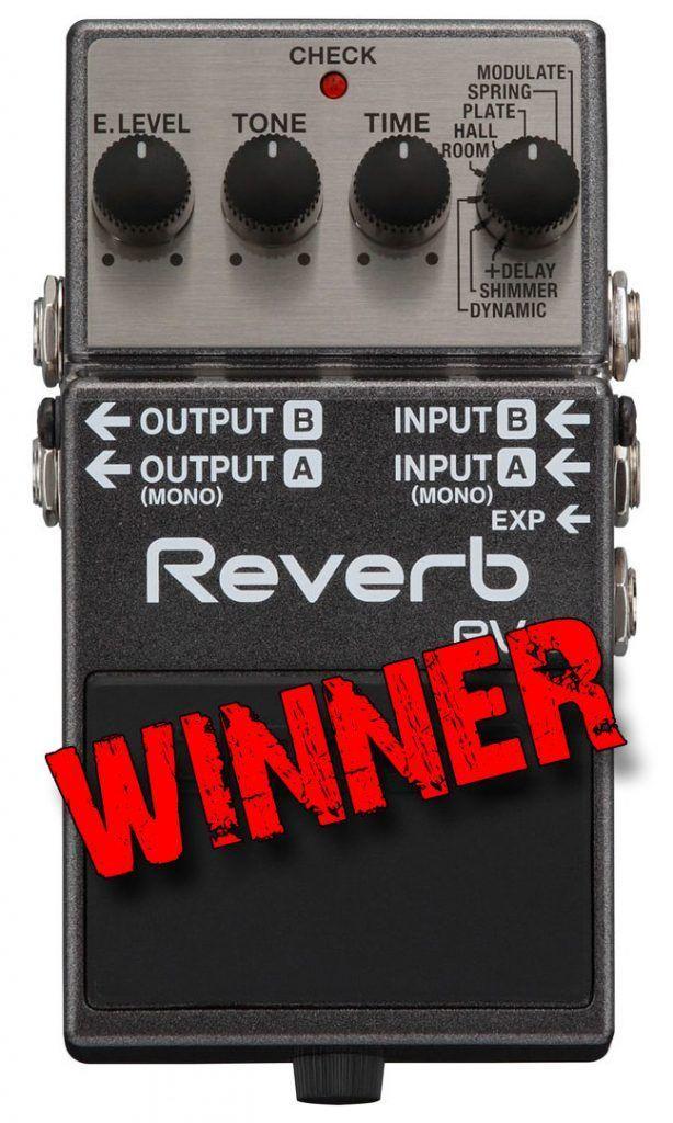 La gagnante : Boss RV-6