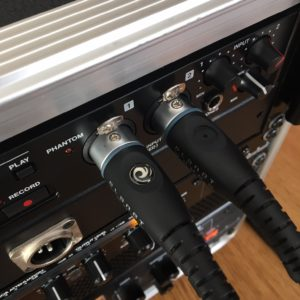 Tascam SD-20M : XLR coincés