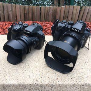 Caméra : Panasonic-DMC-FZ300 et Panasonic DMC FZ-2000