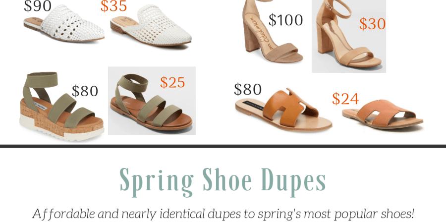 bafa31db77d Spring Shoe Dupes