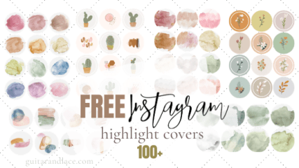 How To Make Instagram Highlight Covers 50 Free Icons You need to download the zip files on your computer first and then unzip and send the files to your phone. how to make instagram highlight covers