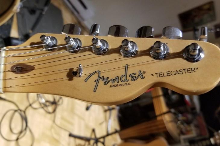 Guitar Tuner Holes