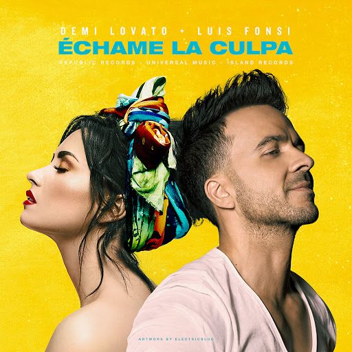 Luis Fonsi, Demi Lovato - Échame La Culpa Chords Guitar Piano and Lyrics