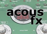 effets acoustique