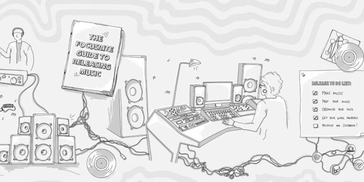Focusrite tips on releasing music