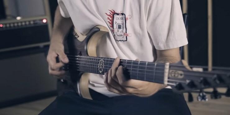 Jinjer guitar play through