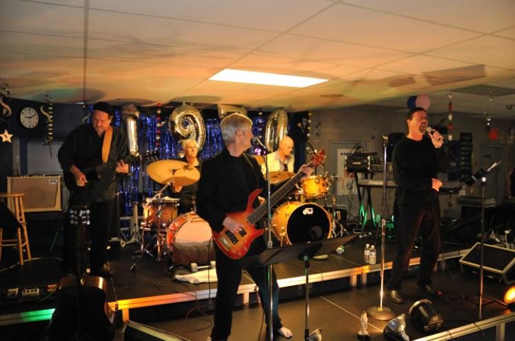 Yorkshires 40th Reunion at Bishop O'Connell - L to R: Paul Kotapish, Bud Harner, Tim Wynne, John Molo, Dennis Holland, Rick Normoyle