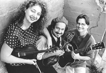 The Quirks - L to R: Ruthie Dornfeld, Paul Kotapish, Scott Nygaard