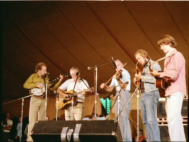 Benton Flippen and the Four Pauls at Fiddle Tunes