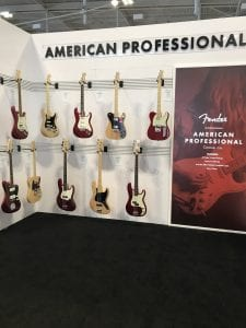 Fender Guitars American Professional New Colors SNAMM17