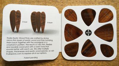 Thalia wood pick sampler pack