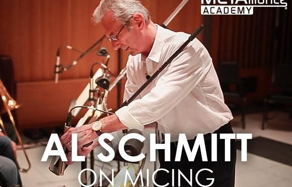 Al Schmitt on Micing